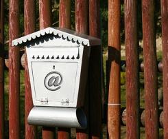 Boîte aux lettres de votre mailing marketing