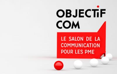 Logo du salon Objectif Com 2015 pour les PME