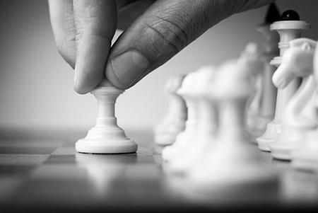 la stratégie de contenu, un jeu d\'échec